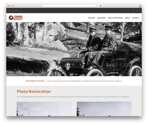 WordPress theme Elite - cunning-image-photo-restoration.com