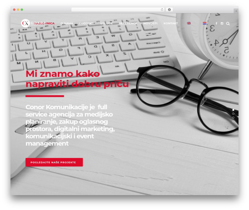 WordPress website template Capri - conor.com.hr