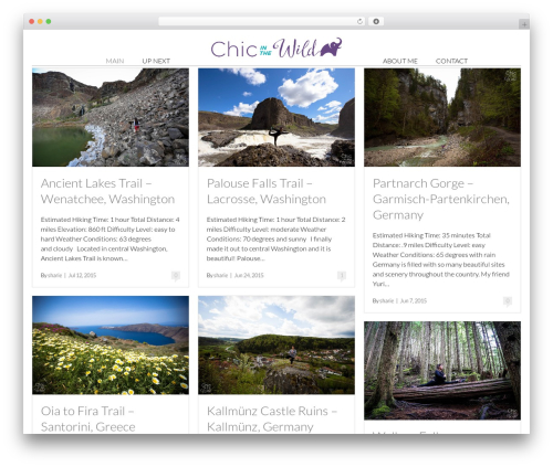 Free WordPress Responsive Videos by Angie Makes plugin - chicinthewild.com