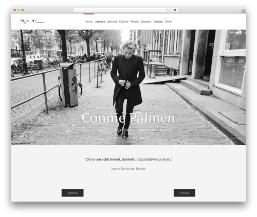 Eden WordPress theme - conniepalmen.nl