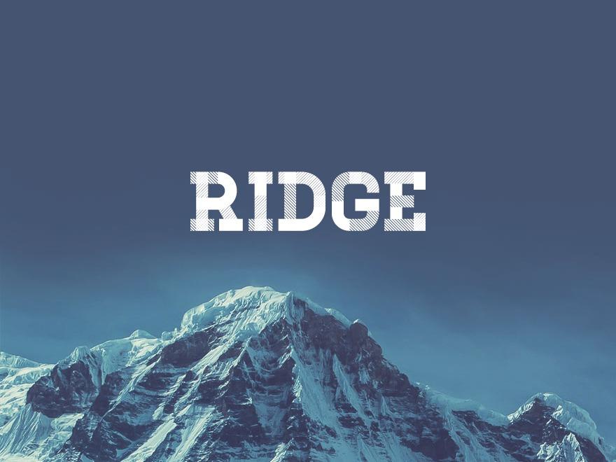 Ridge Child WordPress website template