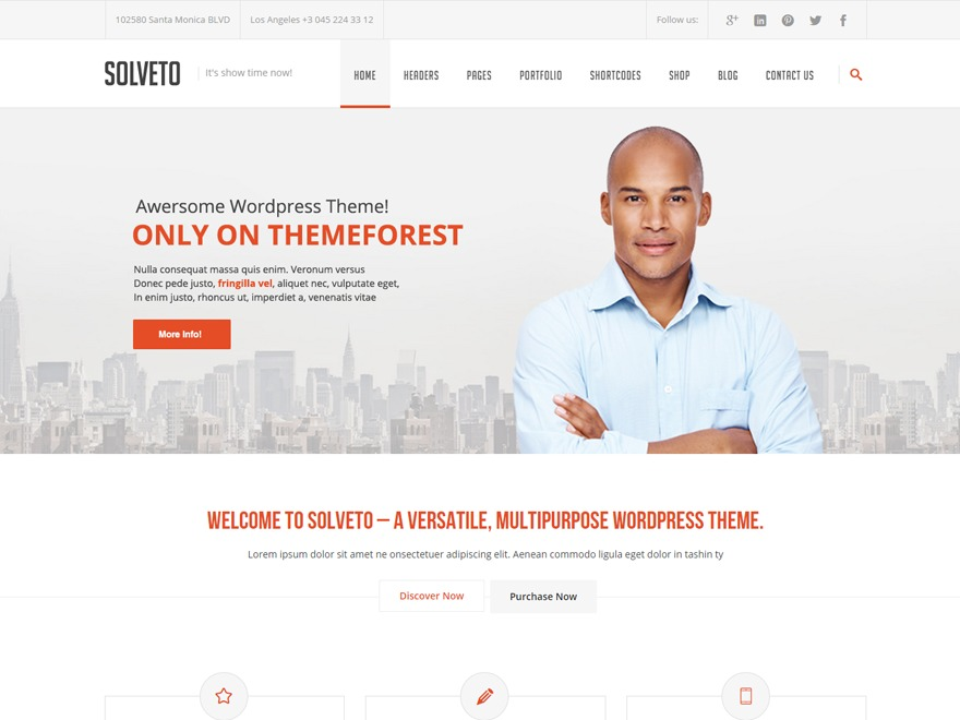 Solveto Child WordPress theme