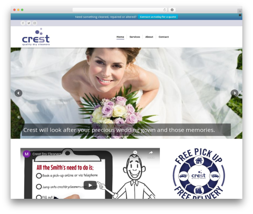 The7 WP template - crestdrycleaners.com.au