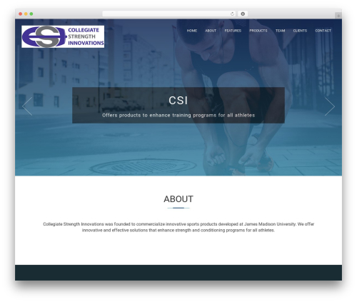 Compact One WordPress theme free download - csi-strength.com