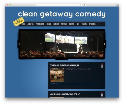 Dance Floor best WordPress template - cleangetawaycomedy.com