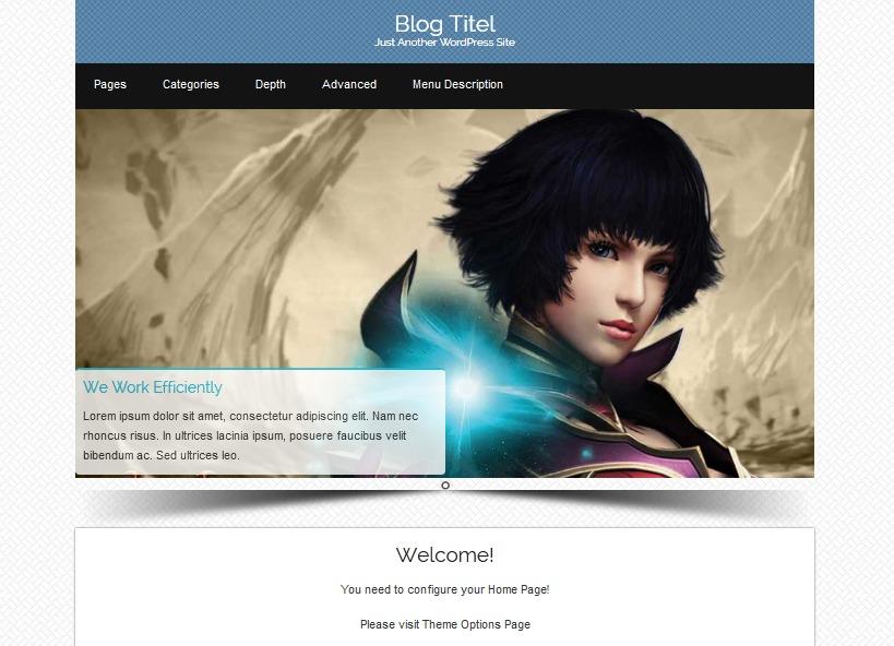 Osiris-pro WordPress blog template