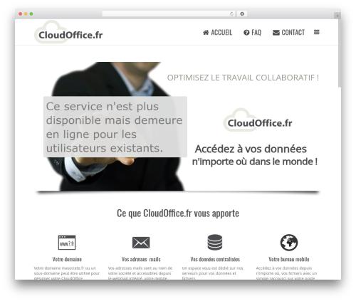Subway WordPress theme - cloudoffice.fr
