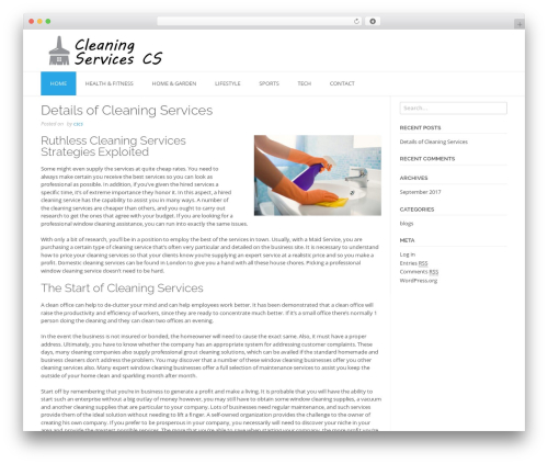 TopShop WordPress template free - cleaningservicescollegestation.com