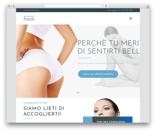 WordPress theme Isida - chirurgiaesteticapetrolo.com