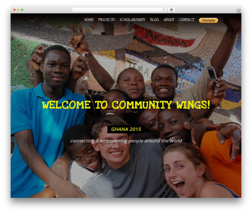 WP template Elite - communitywings.org