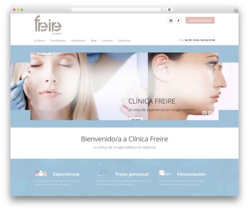 WP template MedicalDoctor - clinicafreire.com