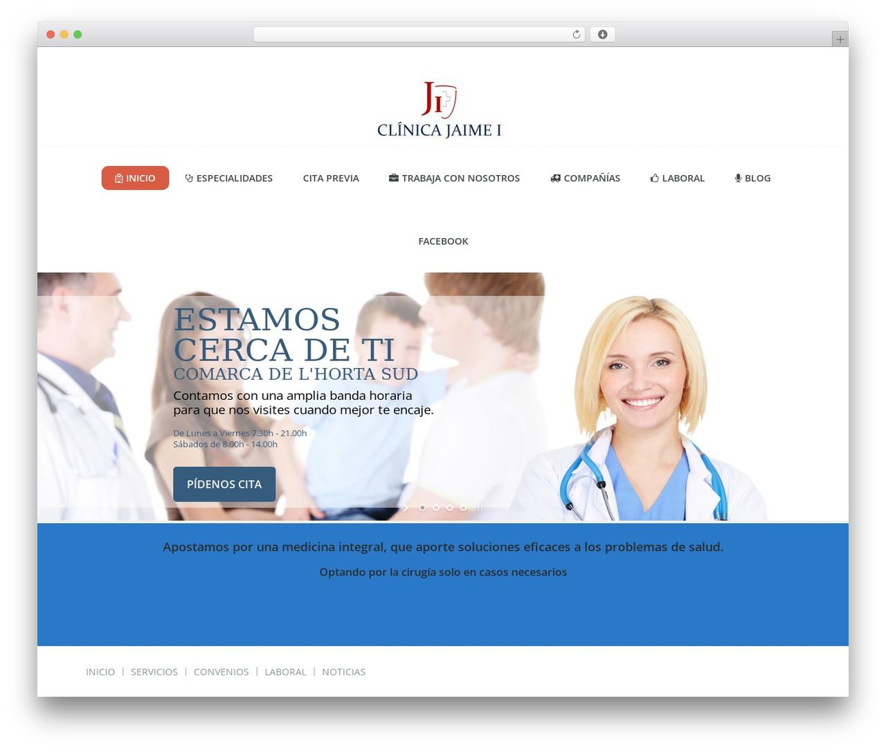 Guru WP template - clinicajaimeicatarroja.com