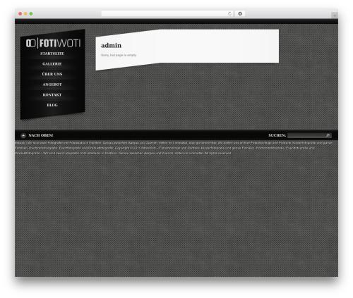 Template WordPress Slash WP - cyberworld.ch