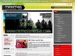 Theme WordPress Mixxmag Wordpress Theme