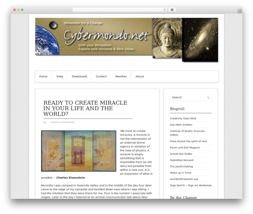 Best WordPress template Contango Pro - cybermondo.net