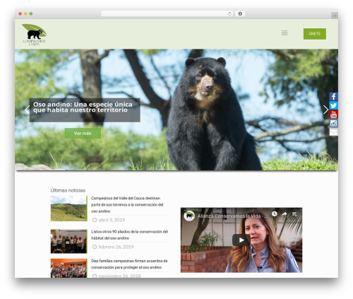 Betheme | Shared By VestaThemes.com best WordPress theme - conservacionosoandino.org