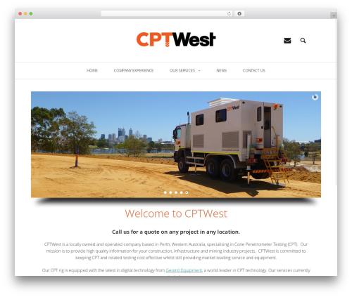 Heap WordPress theme - cptwest.com.au