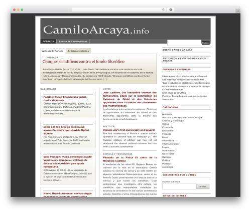 Free WordPress jQuery Table of Contents plugin - camiloarcaya.info