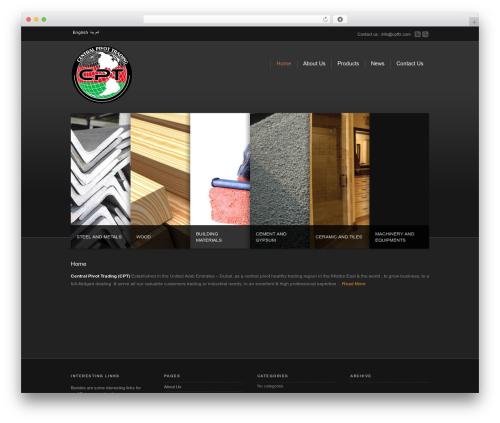 WordPress theme Corona - cptfz.com