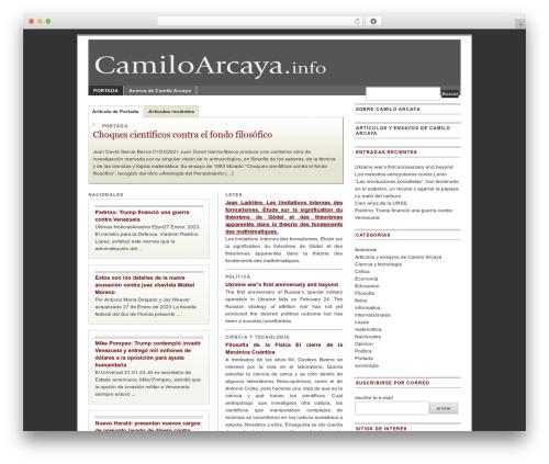Free WordPress jQuery Table of Contents plugin - camiloarcaya.com