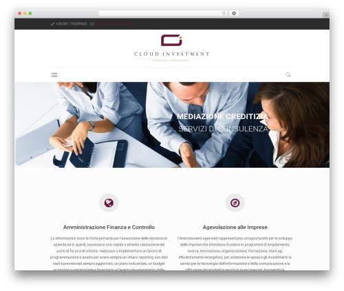 Betheme premium WordPress theme - cloudinvestment.it