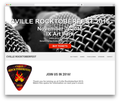 SKT White WordPress theme - cvillerocktoberfest.com
