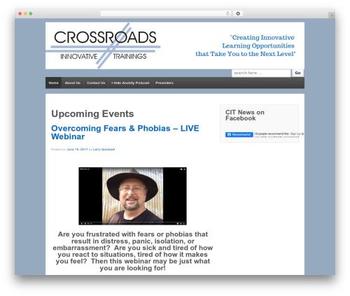 Theme WordPress Responsive - citrainings.com