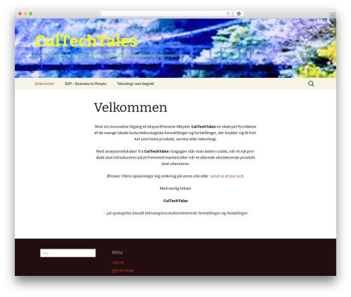 Twenty Thirteen WordPress free download - cultechtales.com