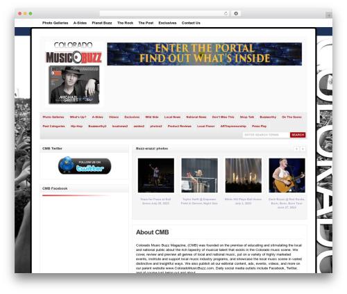 Free WordPress My Quicktags plugin - colomusicbuzz.com