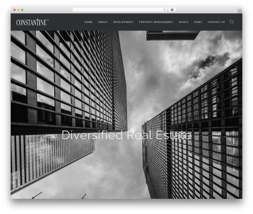 Wp_Haswell real estate WordPress theme - constantineinc.com