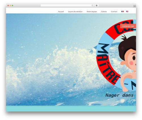 Zerif Lite WP template - colas-maitre-nageur.com