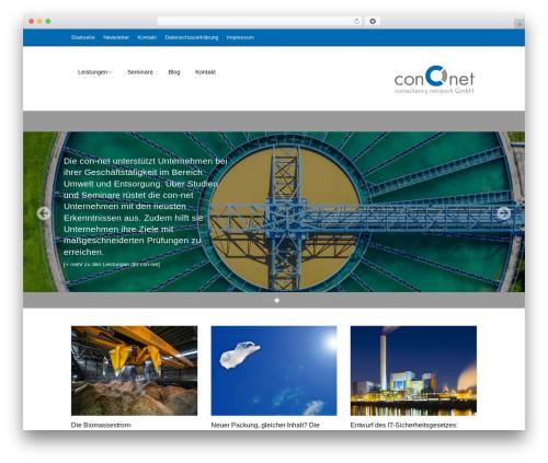 Make free WordPress theme - con-net.org
