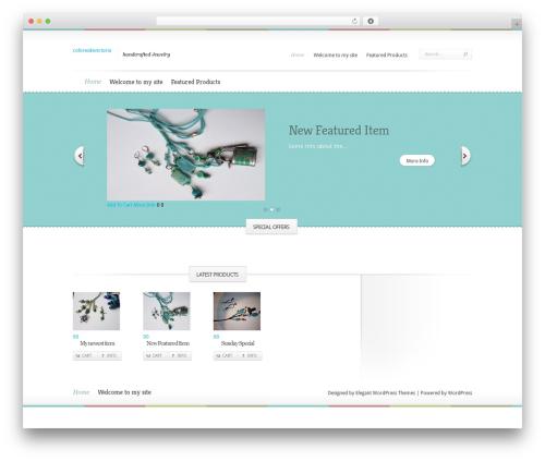 Theme WordPress Boutique - coloresdevictoria.com