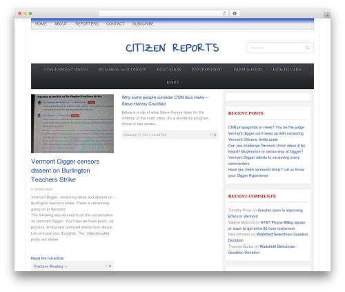 Tribune Theme theme WordPress - citizenreports.us