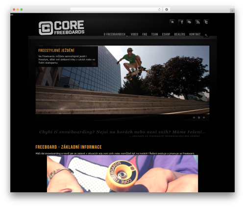 WordPress template Prestige Ultimate Wordpress Theme - corefreeboards.cz