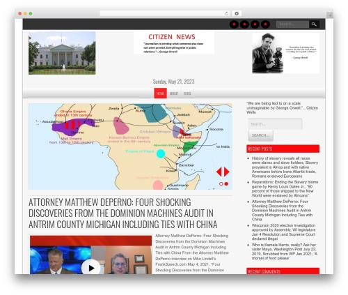 WP theme NewsPress Lite - citizenwells.net