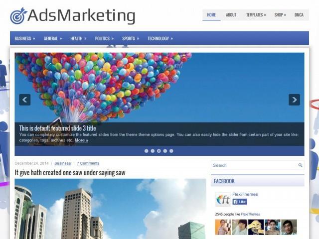 AdsMarketing WP theme