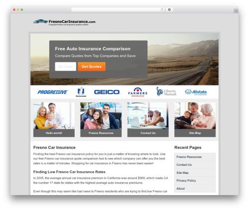 Aperture template WordPress free - fresnocarinsurance.com
