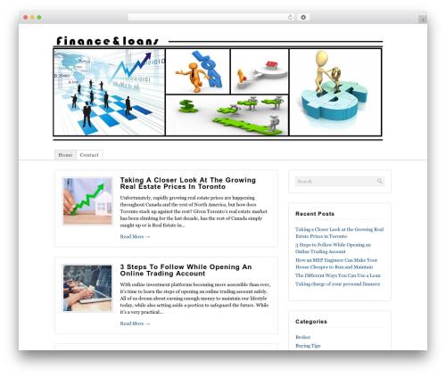 Best WordPress template Shadows - finance-loans.org