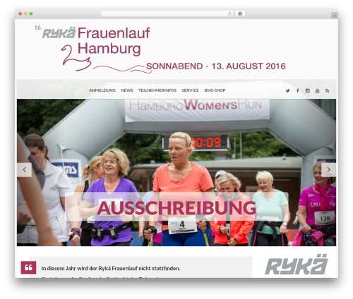 BMS WordPress theme - frauenlauf-hamburg.de