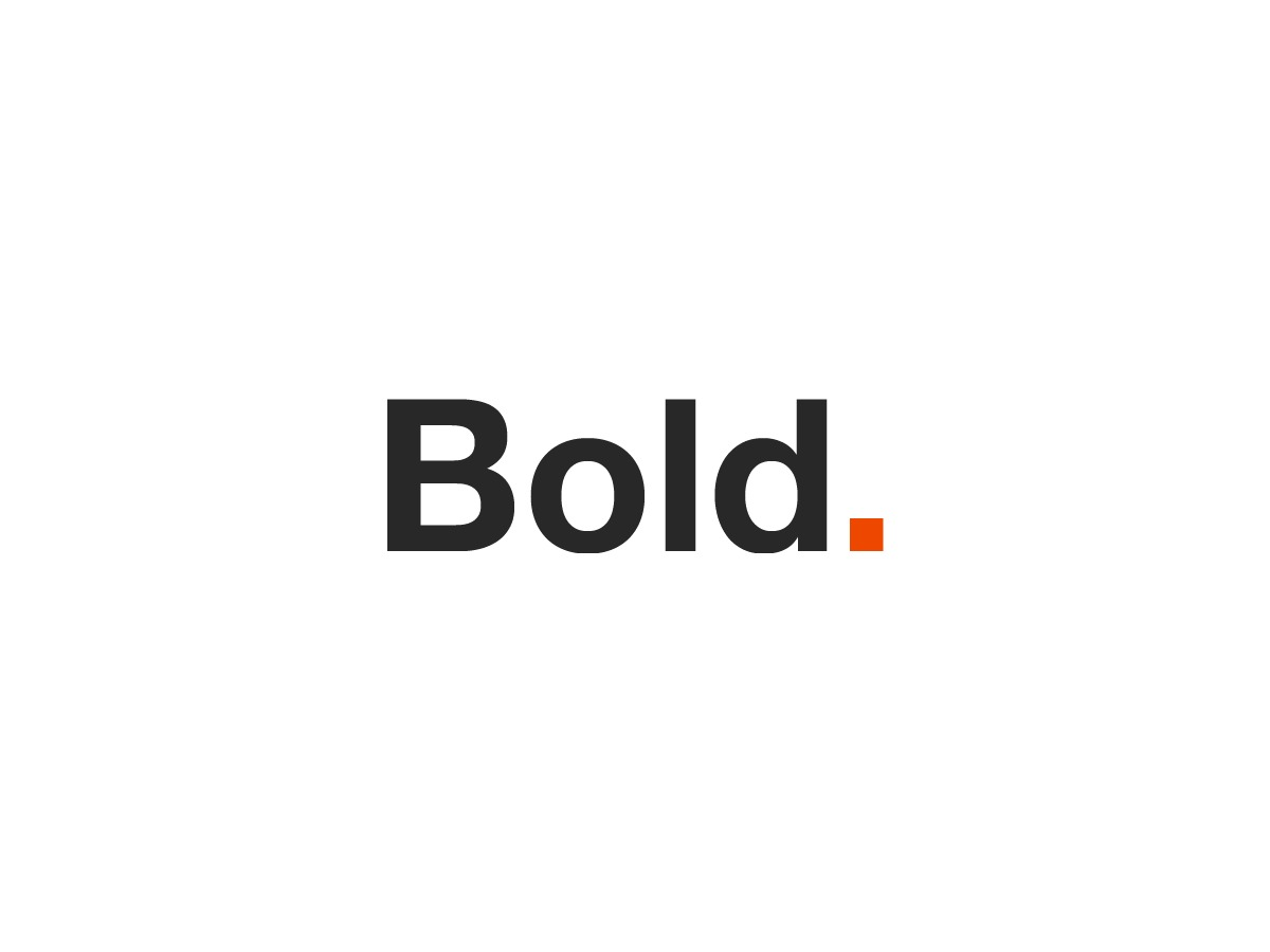 Bold. WordPress theme design