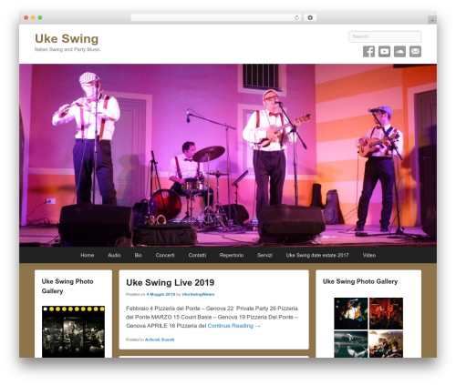 Catch Flames premium WordPress theme - ukeswing.com