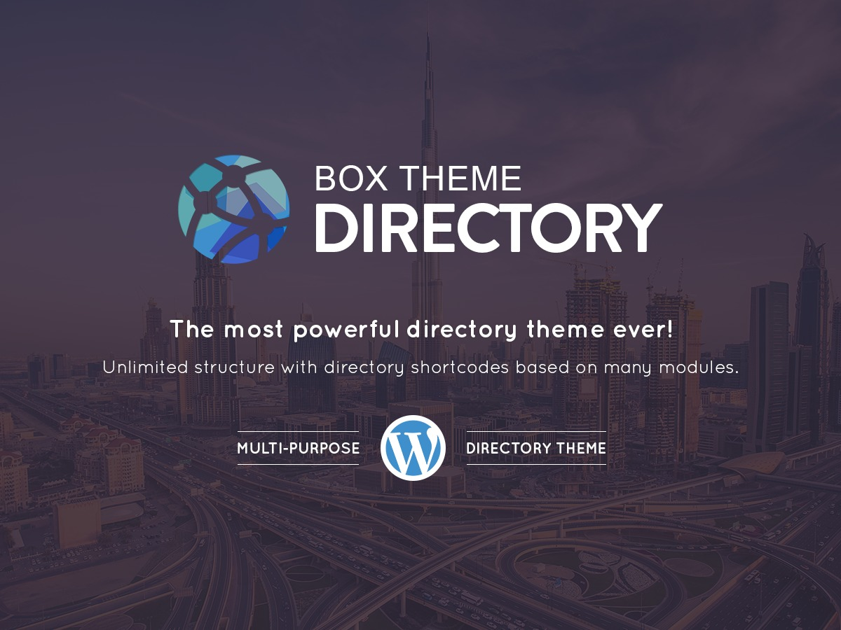 Directorybox WordPress store theme