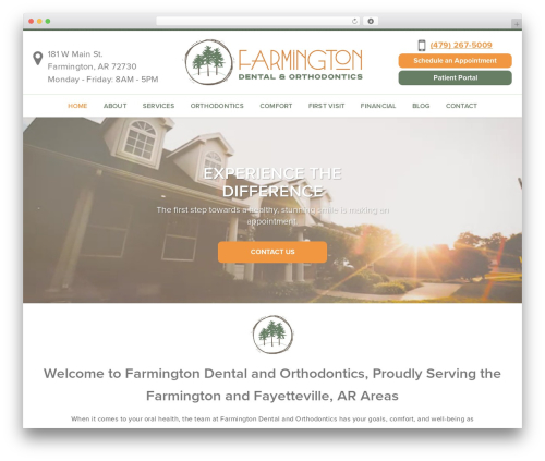 Free WordPress WP Responsive Menu plugin - farmingtondentalcenter.com