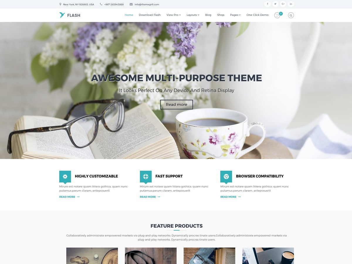 Flash Child WordPress blog theme