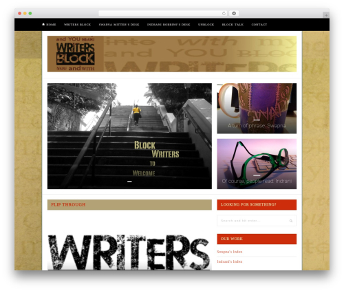 Hickory WordPress template - fromwritersblock.com