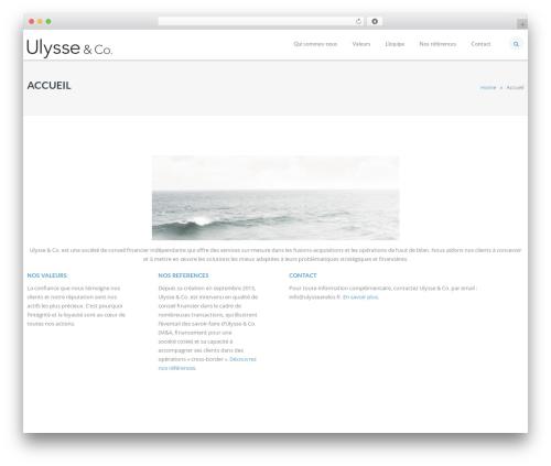 IncomeUp top WordPress theme - ulysseandco.fr