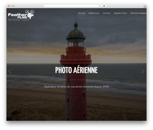 Inspiro WordPress theme - featherfilms.fr