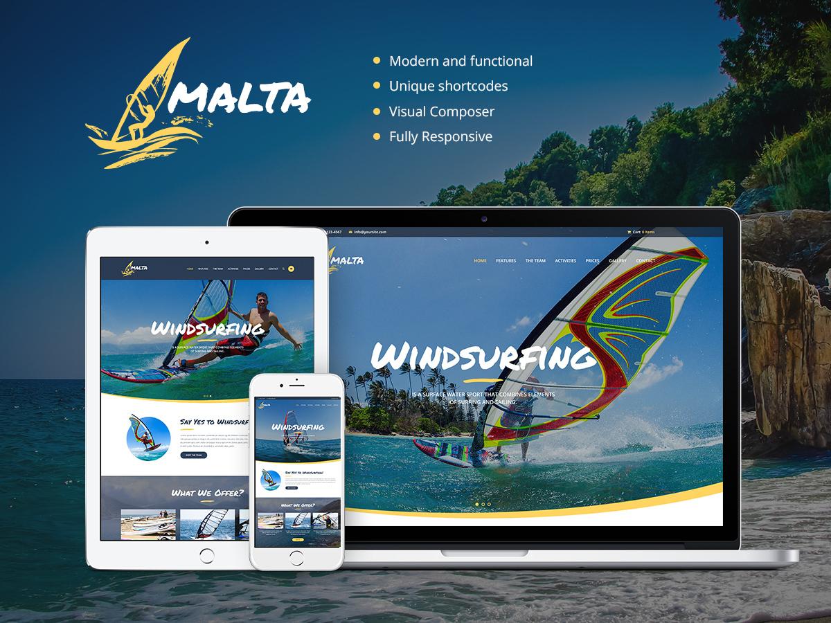 malta WordPress theme
