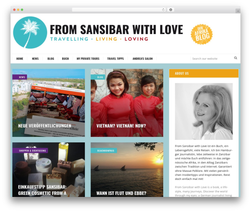 Free WordPress Easing Slider plugin - fromsansibarwithlove.com